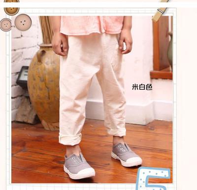Ann's Goods男童率性文青反折九分褲 (2.9折)