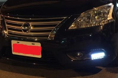 汽車通用型個性LED日行燈(一組2入) (2.2折)