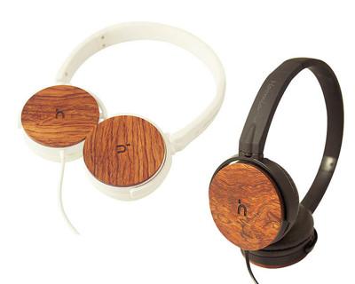 hoomia U3Wood 紅花梨原木經典耳罩式耳機 (7.4折)