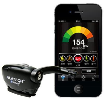 ALATECH iPhone專用 藍牙4.0自行車碼錶測速器 (SC001BLE) (7.5折)