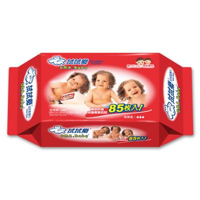 【拭拭樂】幼兒超純水柔濕巾85抽 (5.6折)