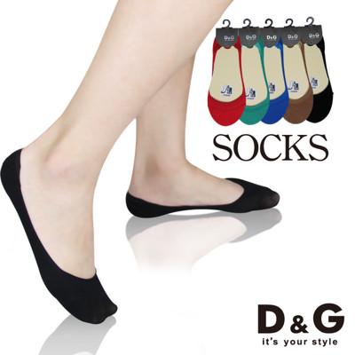 D&G超彈魔束帶止滑襪套-D295(女襪/襪子/隱形襪) (0.8折)