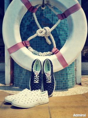 Admiral 英國百年歷史品牌,英式海軍休閒帆布鞋,小白鞋,男女鞋,情侶鞋,工作鞋,潮鞋 (3.5折)