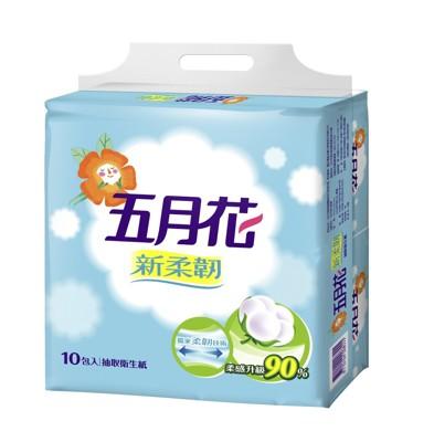 五月花抽取式衛生紙100抽60包 (6.2折)