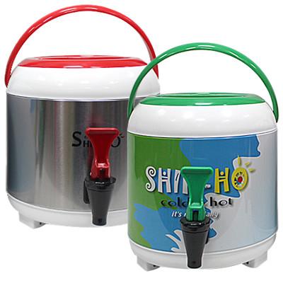 5公升不鏽鋼手提冰桶(附水龍頭) (6.9折)
