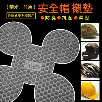 奈米竹炭安全帽除臭襯墊 (1.9折)