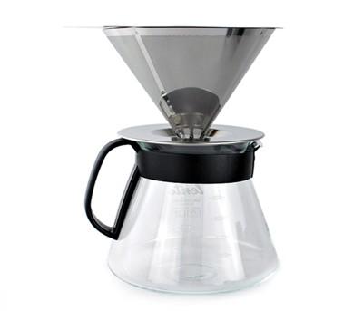 慢拾光手沖式不銹鋼咖啡組 (6.6折)