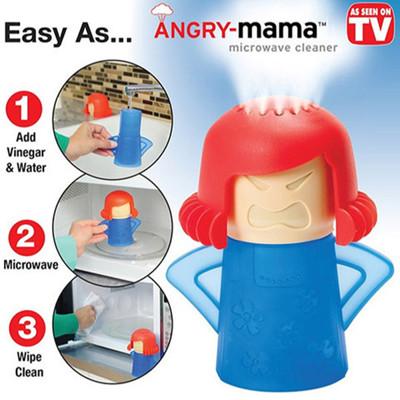 ANGRY MAMA 微波爐清潔蒸器 (2折)