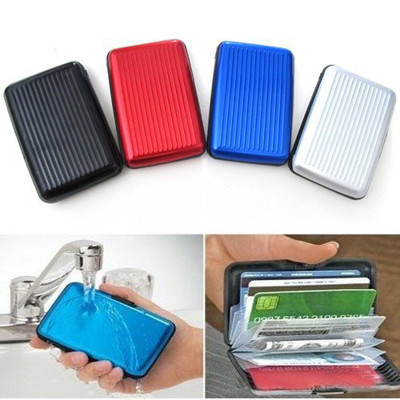 超實用防盜刷輕巧鋁製信用卡夾 (1.6折)