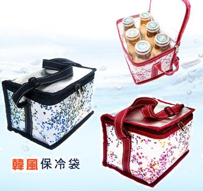 特選超厚牛津布韓風野餐保冷袋/保溫袋/便當袋/飲料袋  郊遊必備 (1.5折)