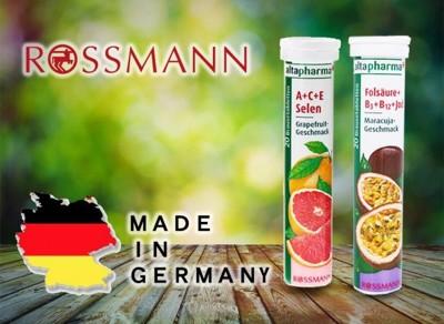 德國Rossmann發泡錠---進階款維他命口味 (2.6折)
