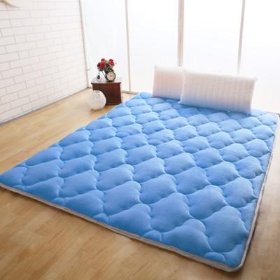 【契斯特】八公分超厚實素色京都日式床墊-特大7尺-八色可選 (6.5折)