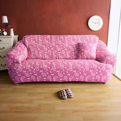 【Homebeauty】恆溫紗彈性沙發罩-1+2+3人座-四色可選 (5折)