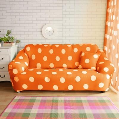【Homebeauty】超涼感冰晶絲印花彈性沙發罩-3人座-四色可選 (5折)