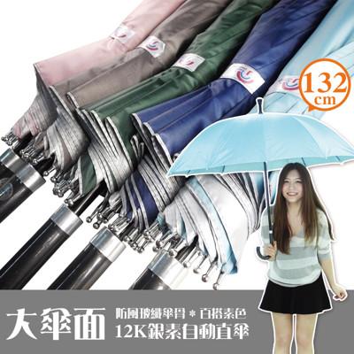 12隻骨防風自動無敵直傘 (3.6折)