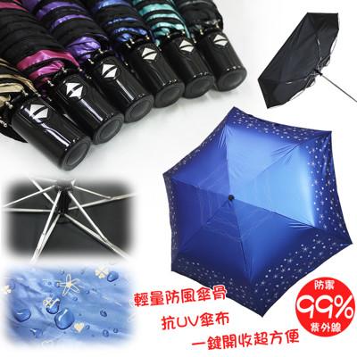 超輕量不透光自動晴雨傘(星空草原) (3折)