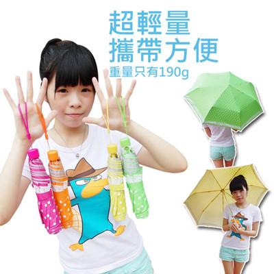 超輕量防風點點晴雨傘 (3.6折)
