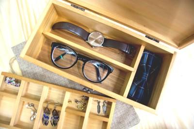 【唐裹文創】【手工】【木造】 飾品收納盒 (6.5折)