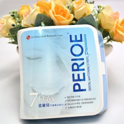 LG PERIOE 倍麗兒牙齒美白貼片 七Days (5.9折)