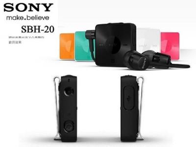 全新版 神腦代理 SONY SBH-20/SBH20 原廠立體聲藍芽耳機 (7.5折)