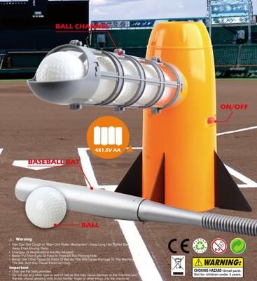 兒童棒球自動向上發球機【TimeOUT】台灣總代理 (6.2折)