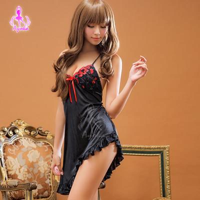 星光密碼【K032】少女情懷性感斜裙襬情趣性感睡衣 (2.4折)