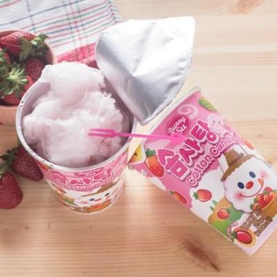 韓國進口杯裝棉花糖系列(小兔原味/小兔草莓/爆炸頭蜂蜜/爆炸頭蜂蜜奶油) (6.2折)