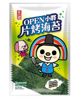 良澔OPEN-片烤海苔/酥爆海苔 (5.1折)