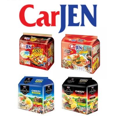 馬來西亞進口泡麵 CarJen泡麵系列( 火辣蔥燒鐵板炒麵/娘惹白咖哩麵/芝士咖哩麵/芝士蘑菇麵) (6.3折)