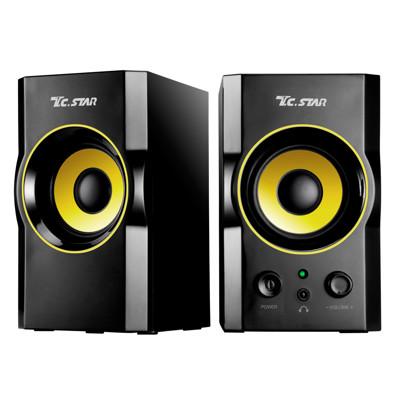 T.C.STAR TCS2423二件式USB木箱喇叭 (6.5折)