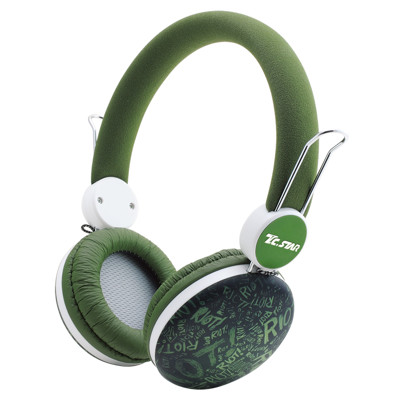 T.C.STAR TCE8768頭戴式耳機麥克風 (6.6折)
