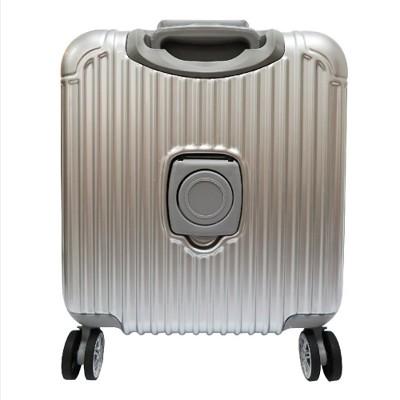 Cromonde 克洛蒙18吋PC典藏鋁框公事登機箱/行李箱/公事箱/登機箱/鋁框 (4折)
