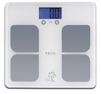 TECO東元BMI藍光體重計(XYFWT521)/強化玻璃/電子秤/人體秤 (3.5折)