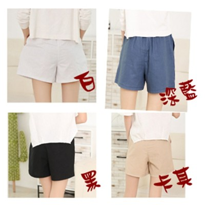[JAR嚴選]夏日  寬鬆吸汗 棉麻口袋短褲 (2.5折)