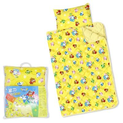 【 Babytiger虎兒寶 】台灣製幼兒枕頭+棉被組 -POLI 救援小英雄 波力 ROBOCAR (9.1折)