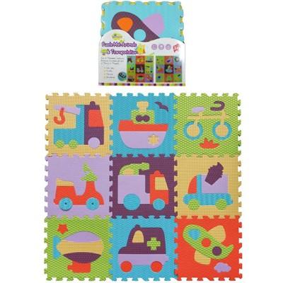 【BabyTiger虎兒寶】MIT 遊戲爬行巧拼地墊 魔術方塊系列-多款圖案 (7.7折)