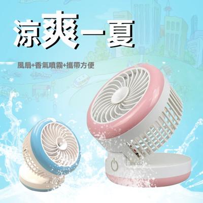 《MCK》USB噴霧型超靜音風扇 (5.3折)