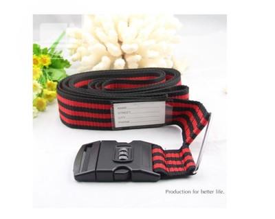 行李箱束帶 十字綁帶 密碼鎖(400CM)(24~30吋行李箱適用) (4.6折)