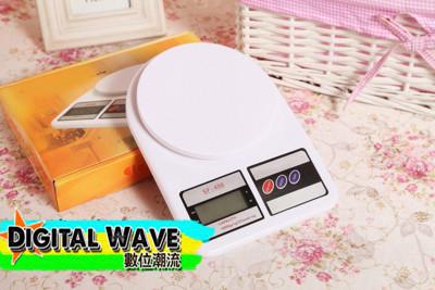 10公斤平台式按鍵電子秤10kg 烘焙磅秤 (電池自備) C159900120 (1.8折)