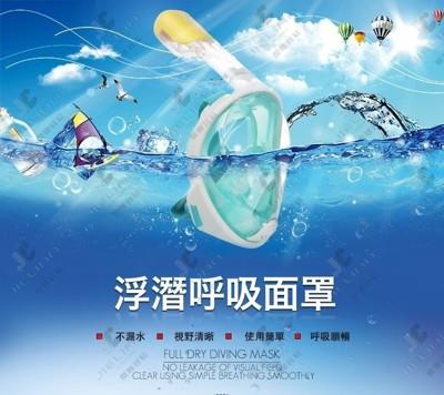 THENICE 浮潛呼吸面罩 (6.5折)