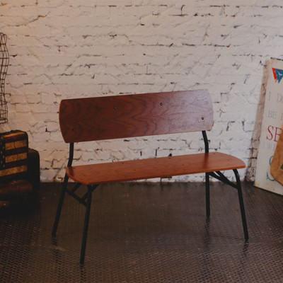 《AccessCo》工業風休閒復古雙人椅 (4.8折)
