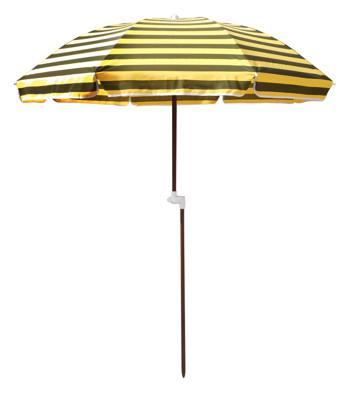 【大傘王】露營傘 採木中棒、TC棉布,不導電、防雷擊、戶外休閒露營必備,多段式角度調節(BE-110 (6.1折)
