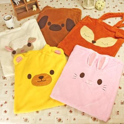 可愛動物造型.A4手提袋.手提包.手提袋.收納包.收納袋.外出袋.媽媽包 (3.1折)