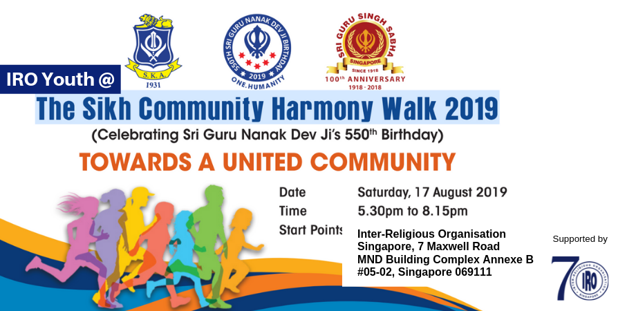 IRO Youth @ The Sikh Community Harmony Walk 2019 | Peatix