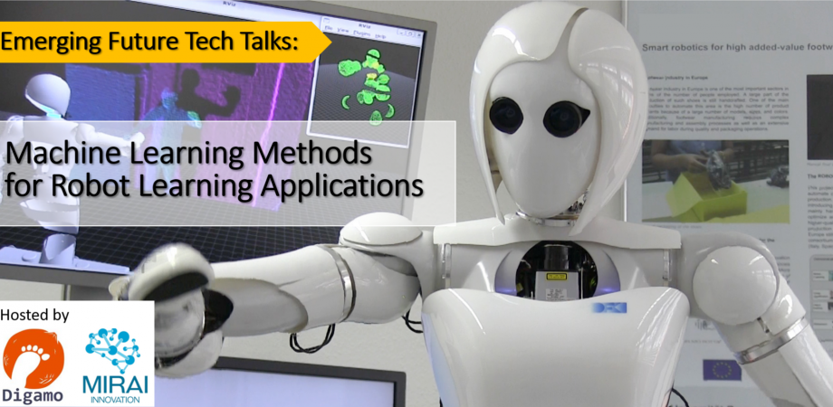 Emerging Future Tech Talks: Machine Learning Methods for