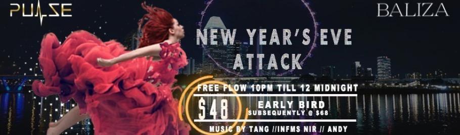 New Year Countdown Party@Baliza | Peatix