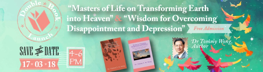 "Double Book Launch: ""Masters of Life on Transforming Earth into"