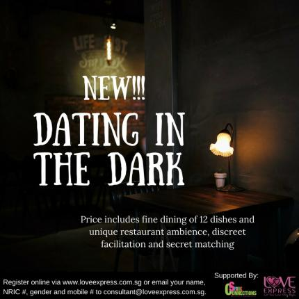 over 50 dating dating in the dark