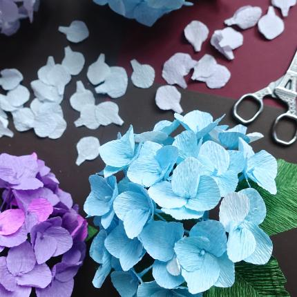 Hydrangea party a crepe paper flower workshop 26th may saturday eileen has been making paper flowers since 2015 she is completely self taught and each paper flower design is created from scratch mightylinksfo