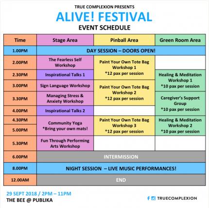 ALIVE! Festival 2018 | Peatix